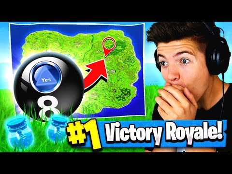 Using MAGIC 8 BALL To WIN FORTNITE: Battle Royale!? Mp3