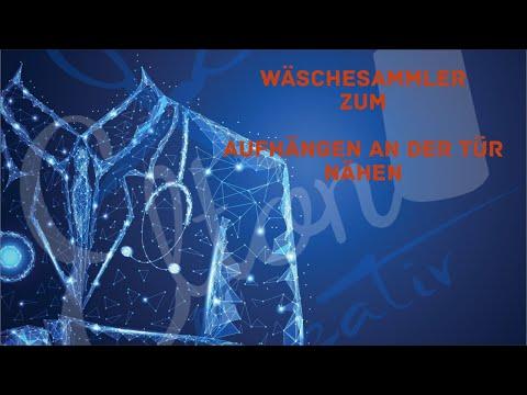Wäschesammler mit Möglichkeit zum Aufhängen an der Tür nähen (ANFÄNGER TAUGLICH)