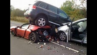 СТРАШНЫЕ АВАРИИ СМОТРЕТЬ ВСЕМ! ДТП! Cars Crash Russia rusdtp