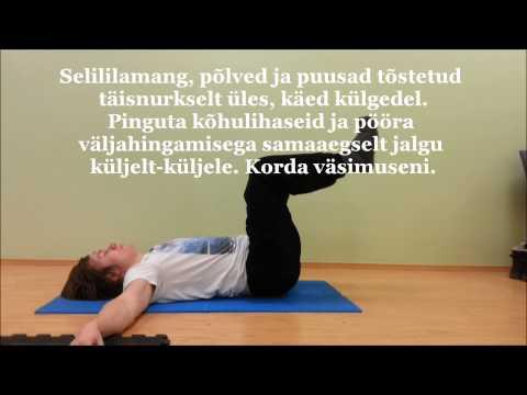 Harjutusi saalis hüpertensiooni