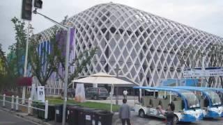 Video : China : The ShangHai 上海 World Expo, European pavilions