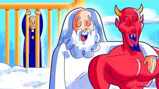 I Destroyed Heaven by Sending Satan There - Heaven vs Hell