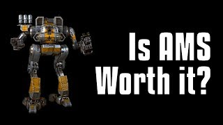 AMS vs Missiles Performance Test - MechWarrior Online