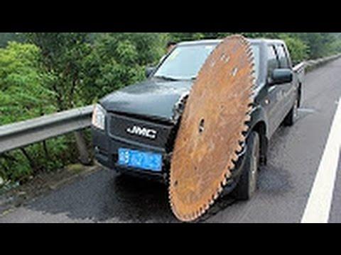 Самые дикие аварии тяжелой техники! видео