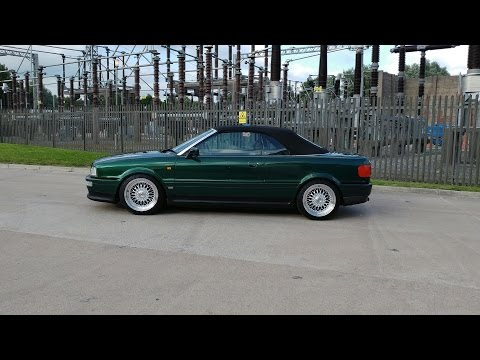 FOR SALE - Audi 80 Cabrio 2.8 vs Calibre Vintage Alloy Wheels