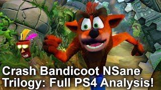 Crash Bandicoot NSane Trilogy: Complete PS4/Pro vs PS1 Graphics Comparison!