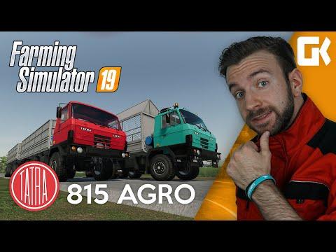 TATRA 815 AGRO | Farming Simulator 19 Mod
