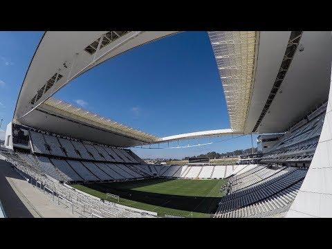 Arena Corinthians pronta para #CORxFLA