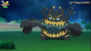 Guzzlord  - (Pokémon) - Guzzlord Screaming Compilation