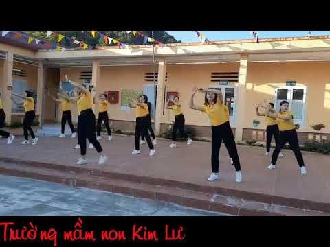 Thể dục giữa giờ - Công đoàn Trường MN Kim Lư