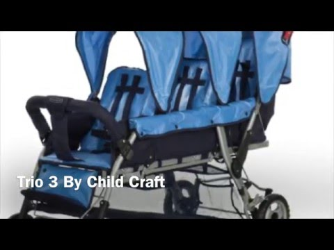 Trio 3 By Child Craft – Triple Stroller Review