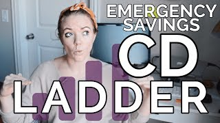 HOW TO BUILD A CD LADDER   Emergency Savings Fund