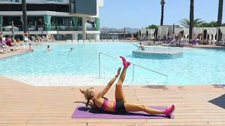 Abs Workout- Flat belly right for the summer!- Kasia Rain