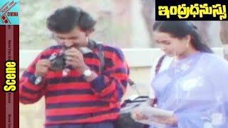 Jeevitha Sister Introduction Scene || Indradhanussu Movie || Rajashekar, Jeevitha || MovieTimeCinema