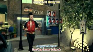 GD & TOP - Don't Go Home MV english sub + romanization + hangul