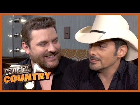 Backstage at Chris Young's Opry Induction With Brad Paisley | Certified Country