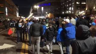 Sights and sounds from downtown Detroit before Lions-Packers showdown
