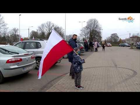 Obchody 102. rocznicy odzyskania niepodległości w Suwałkach