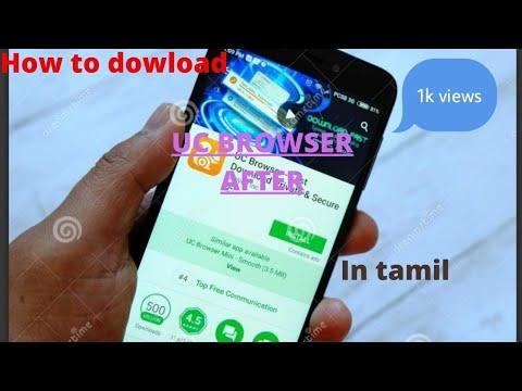 cómo descargar el navegador uc después de la prohibición en tamil