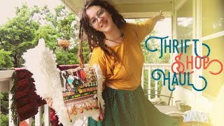 Thrift Shop Try On Haul Autumn 2018- Gypsy Witch Style From The Thrift Shop September 2018 Fall