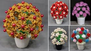 5 Flower Pot Making At Home With Plastic Bottle, Flower Pot Easy