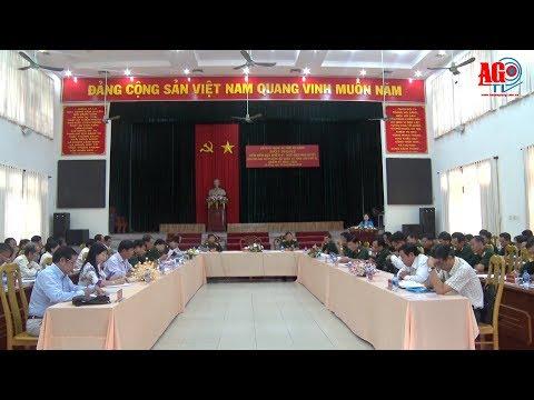 Đảng ủy Quân sự tỉnh sơ kết giữa nhiệm kỳ thực hiện Nghị quyết Đảng bộ Quân sự tỉnh lần thứ XI (nhiệm kỳ 2015 – 2020)