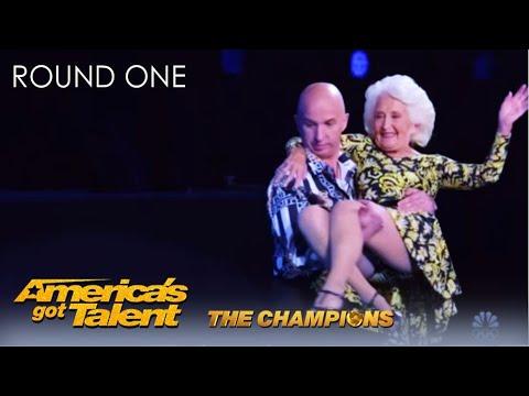 הריקוד הסוער של ניקו ופדי - הסבתא המדהימה שלא מפסיקה להפתיע!