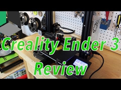 Best 3D Printer Under $200! – Creality Ender 3 Review