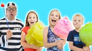 Amelia & Avelina cotton candy pretend play fun