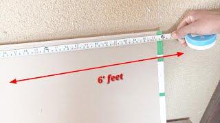 Square feet निकालने का सबसे आसान तरीका ! How calculate square feet area !