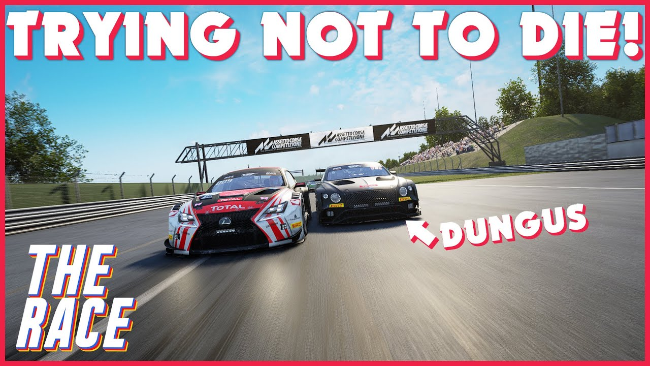 PowerQ The Race: Lexus @Nurburgring on AC Competizione