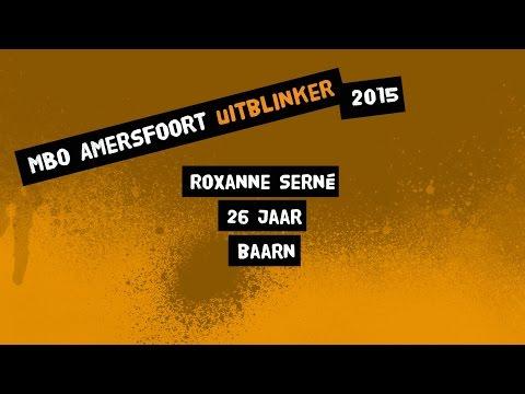 Roxanne Serné- MBO Amersfoort Uitblinker 2015