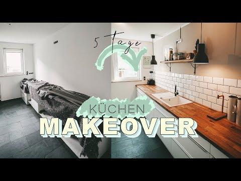 KÜCHEN MAKEOVER - skandinavisch modern | Küche renovieren in  5 Tagen | EASY ALEX