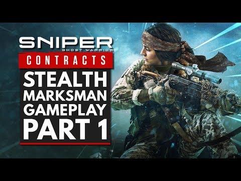 Gameplay de Sniper Ghost Warrior Contracts