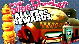 ALL 7ZEE REWARDS & MY GOLD HOUSE - Slime Rancher Gameplay