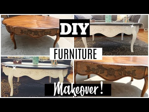 DIY / GOODWILL FURNITURE MAKEOVER / DANIELA DIARIES