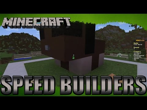 Minecraft minigames - speed builders