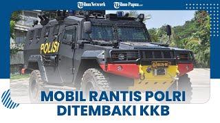 Aparat Kembali Kontak Senjata dengan KKB di Ilaga, Mobil Rantis Polri Ikut Terkena Peluru