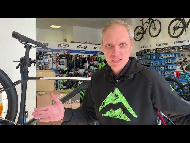 Видео Велосипед Merida Big Nine 5000 Glossy Pearl White/Black