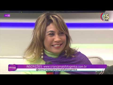 Entrevista na TV Tarobá  Programa Vitrine com apresentadora Maika , Rita Azi ,diretora do Studio Desireé Soares e o nosso embaixador o Influencer Rafael Lowe
