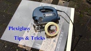 How to cutting plexiglass create with jigsaw
