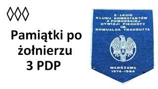 Pamiątki po żołnierzu 3 PDP