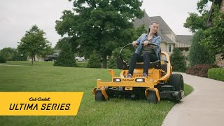 The all-new Ultima Series™ zero-turn mowers