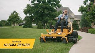 The all-new Ultima Series™ zero-turn mowers