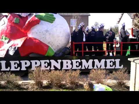 Carnavals optocht in Stevensbeek