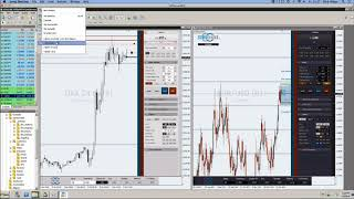 FXFlat - NFP Live Trading mit dem StereoTrader DAX, Euro, Dow am 05.01.2018