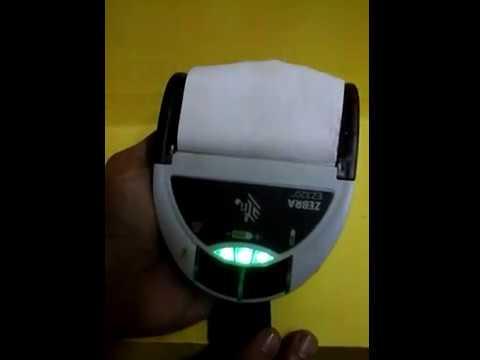 Zebra Bluetooth Printer EZ320
