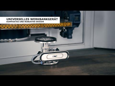 bankmaster® MONO S - mobiler Helfer für horizontales und vertikales Spannen mit Vakuum