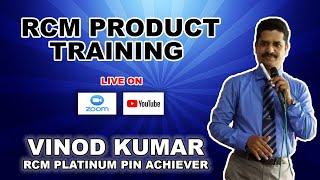 Rcm Product Training   By Vinod Kumar Rcm Platinum