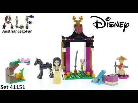 Vidéo LEGO Disney 41151 : L'entraînement de Mulan